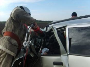 Аваря на трассе М-5